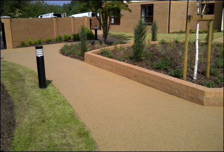 Terrabound Resin Bound Surfacing - Commercial