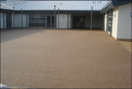 Addaset Resin Bound Surfacing - Commercial